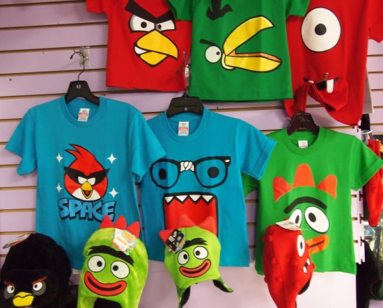 Yo Gabba Gabba, Angry Birds...and many more!