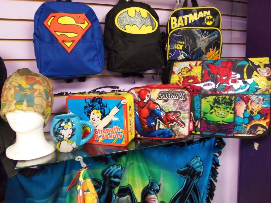 DC and Marvel Universe gear for the superhero in you!