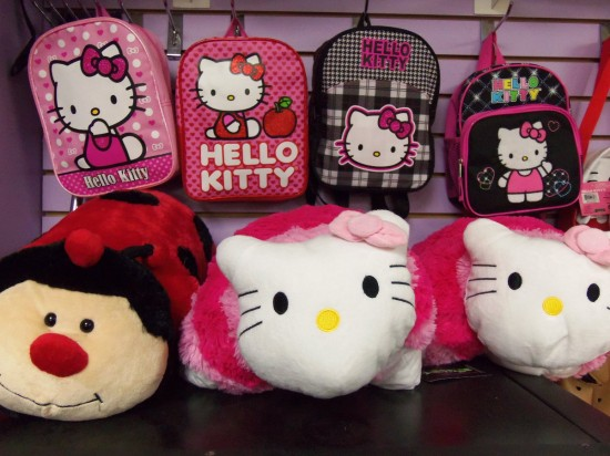 Hello Kitty Gear Wall