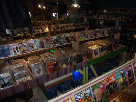 Katz Alley in Redlands has one of the largest collections of Vinyl Records and music books.