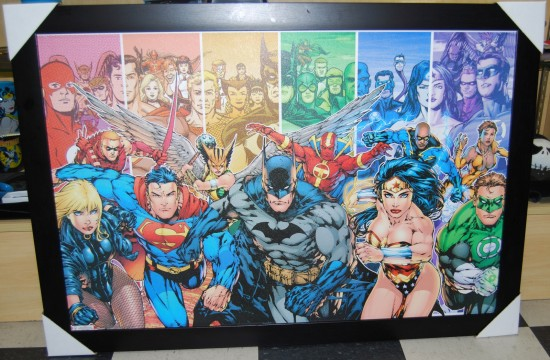 DC Universe Justice League Picture with Frame