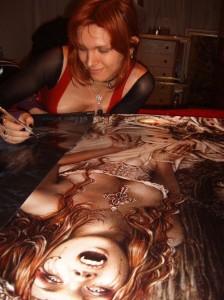 Victoria Frances Photo Signing