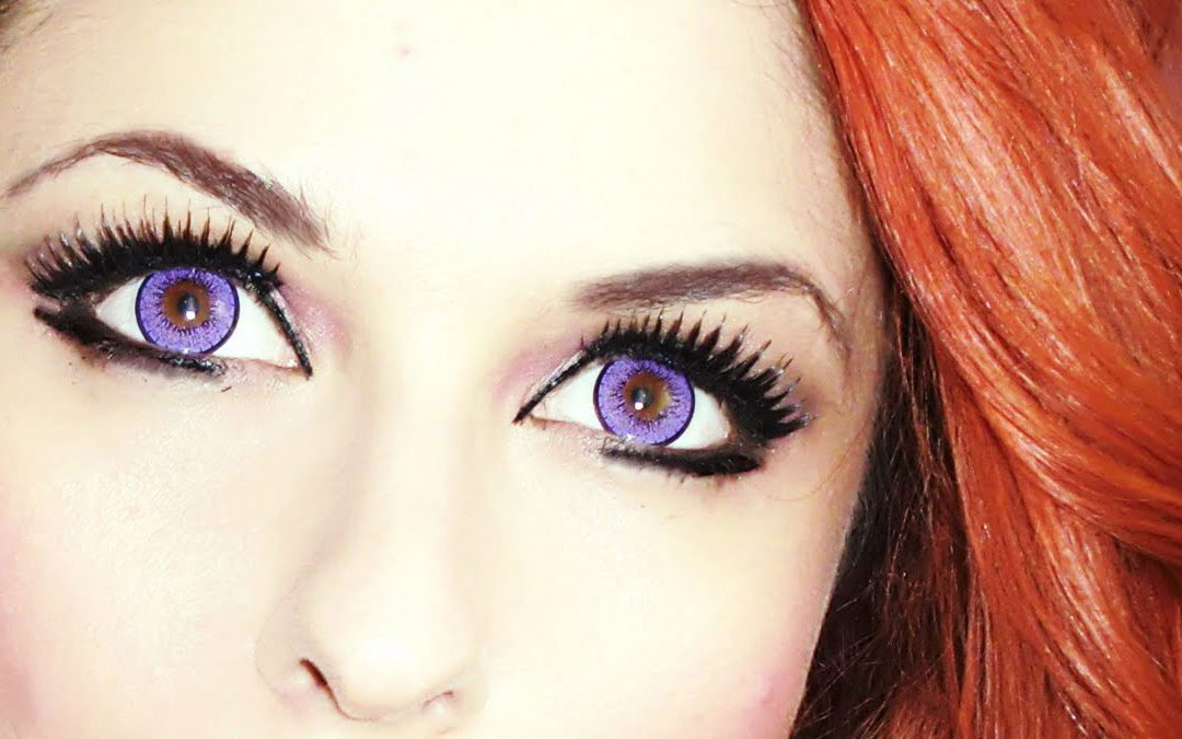 Colored And Crazy Eye Contact lenses