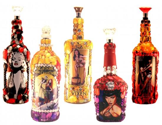 Blingy Ricci Handmade Bottle Lamps