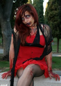 Zombie Pauline Looking Sexy