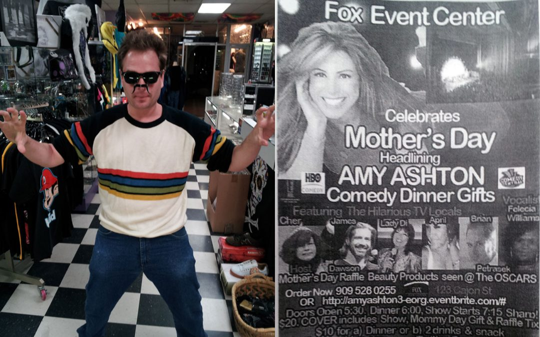 Amy Ashton Comedy Dinner Gifts @ Fox Event Center in Downtown Redlands – May 12, 2013