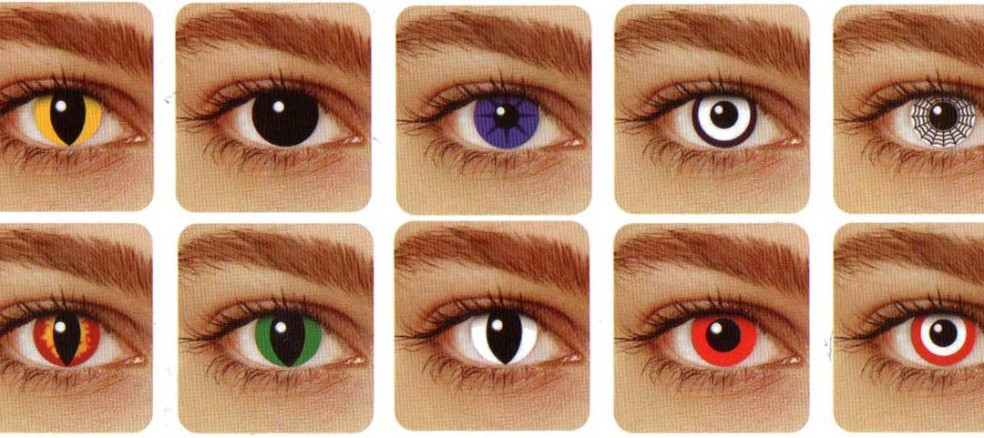 Great Color and Crazy Eye Contacts for Events or Halloween