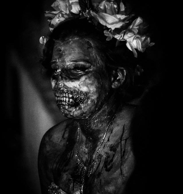 Pauline Gets Runner Up the the 3rd Annual Zombie Beauty Pageant